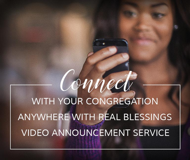 Church Video News Announcement Service
